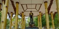 King Rama V Monument Wat Na Phra Lan (ศาลาพระพุทธเจ้าหลวง)