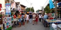 Lamai Walking Street (ถนนคนเดินละไม)